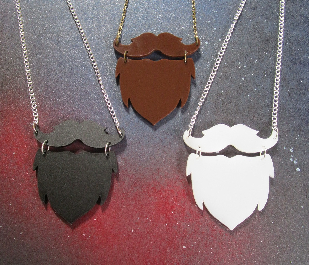 Beards! Beards for sale! Get your Beards here! – No Shave November & Santa Claus =^.^=