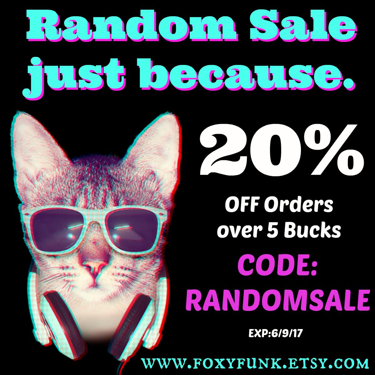 Random Sale is Random