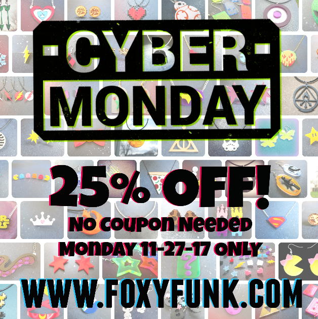 CYBER MONDAY SALES!