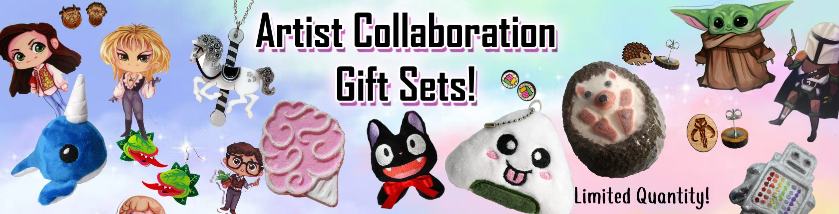 artist collab gift sets