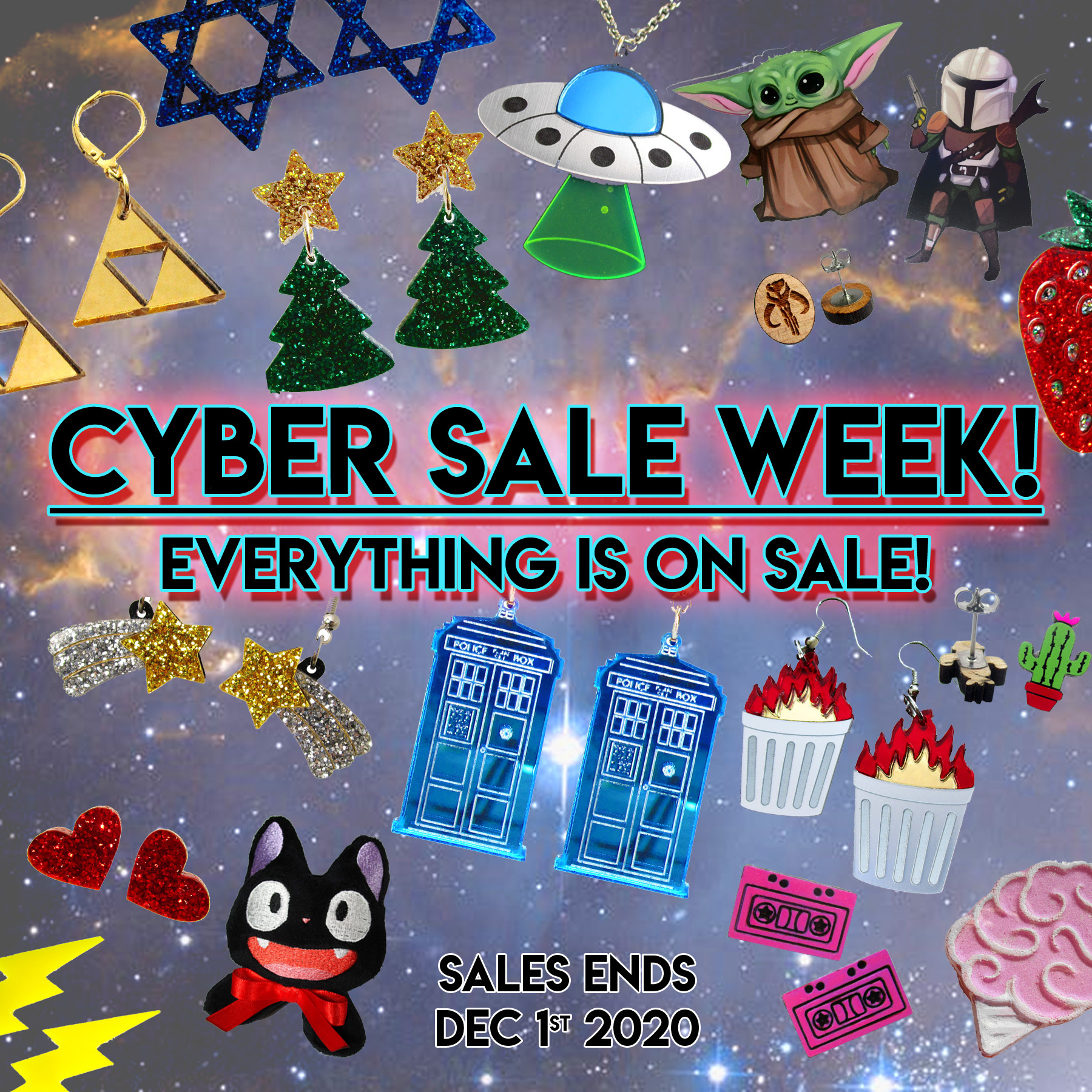 Thanksgiving / Black Friday / Cyber Monday SALE!