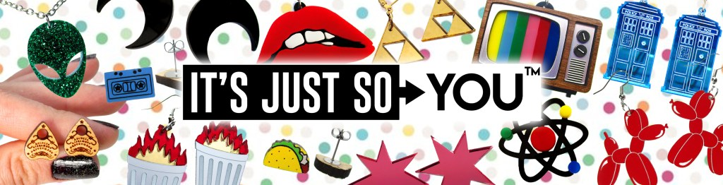 its just so you logo with jewelry product images around logo